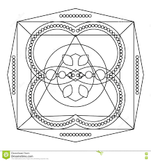 relaxing coloring page with mandala for kids and adults art
