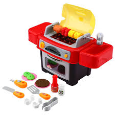 amazon com peradix bbq grill toy play oven kitchen food dishes