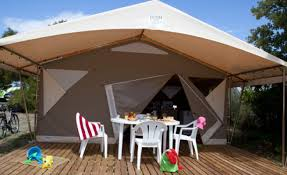 tente 2 chambres tente equipée sans sanitaire 2 chambres 5 places
