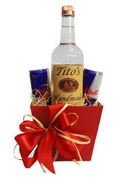 vodka gift baskets build a basket tito s vodka and bull gift basket