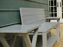 how to build an exterior bench from an upcycled door how tos diy