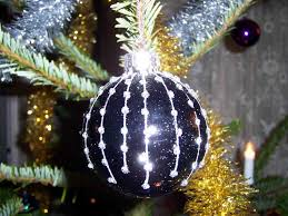 decorate show black and ornaments me decorating