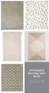 Neutral Area Rugs My Favorite Affordable Neutral Area Rugs
