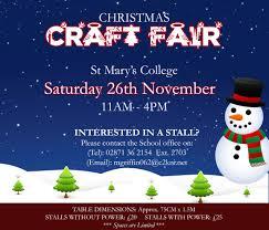 christmas craft fair u2013 last few stalls st mary u0027s college