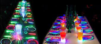 bicchieri fluorescenti festaglow per grandi e bambini