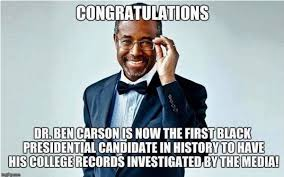 Epic Meme - epic meme sums up ben carson s showdown with media perfectly