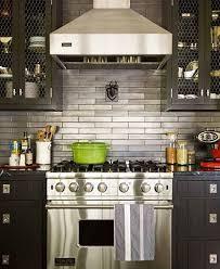 kitchen with stainless steel backsplash thom filicia grey kitchen stainless steel backsplash sublime