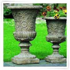 Stone Urn Planter by 26 Best Planters Images On Pinterest Outdoor Planters Cast