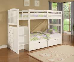 Pull Out Bunk Bed Attractive Coaster La Salle Twin Bed Then Trundle With Storage
