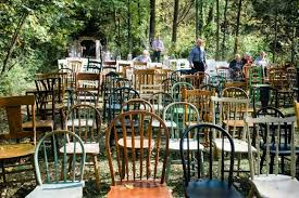wedding ceremony seating rustic wedding ceremony seating at apple tree b b