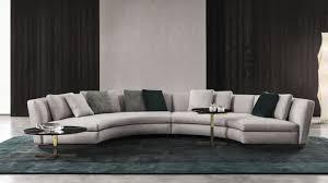 canape minotti modular sofa corner semicircular contemporary seymour minotti