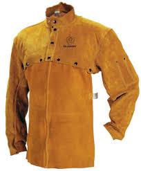 Split Cowhide Leather Cape Sleeve With Bib Split Cowhide 322120
