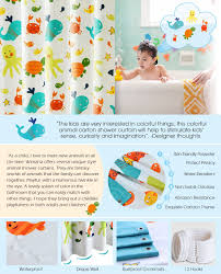 Science Humor Shower Curtains Science Humor Fabric Shower Amazon Com Kids Shower Curtain Wimaha Fabric Shower Curtains