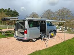 Roll Out Awning For Campervan Vw California Campervan Motorhome Hire In Devon