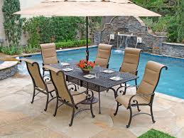 decor outdoor sling patio furniture with sling aluminum patio