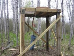Deer Ground Blind Plans Best 25 Deer Blind Plans Ideas On Pinterest Deer Box Stands