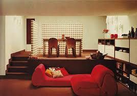 striking red sofa for stylish japanese living room idea japanese