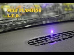 security led lights car self flashing l e d dummy alarm security system youtube