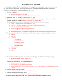 apes chapter 1 2 test study guide the following is a study guide