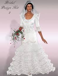 bridal design kit 2 3d models and 3d software by daz 3d