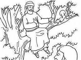 zacchaeus coloring page bing images vbs pinterest