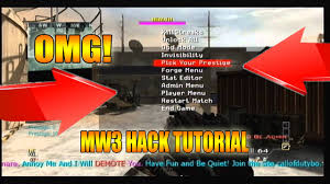 tutorial hack mw3 how to hack call of duty modern warfare 3 xbox 360 only youtube