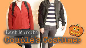 last minute halloween couple u0027s costumes you have in your closet