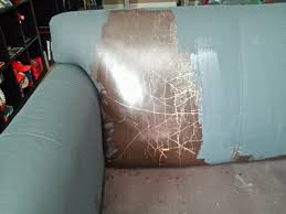 Leather Sofa Refinishing Annie Sloan Paint Leather And The Same Section After Graphite