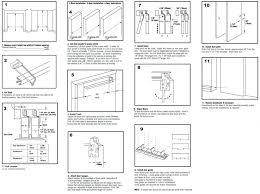 How To Hang A Closet Door Closet Hanging Closet Door Track Installing Bypass Closet Doors