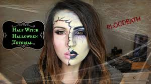 half witch halloween tutorial makeup tutorial makeup geek