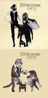 cat photo album classic album covers recreated with kittens