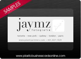 clear buisness cards plastic business cards samples examples and design ideas
