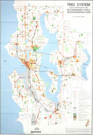 Seattle Rail Map by Center For The Study Of The Pacific Northwest