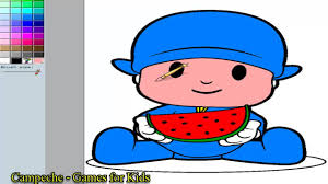 pocoyo online coloring pages pocoyo coloring pictures game youtube