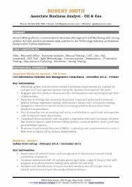 oil and gas resume tutornow info