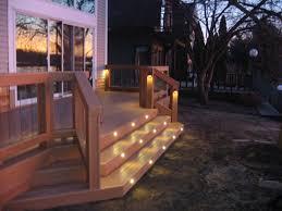 stair lighting deck indoor outdoor stair lighting ideas u2013 latest
