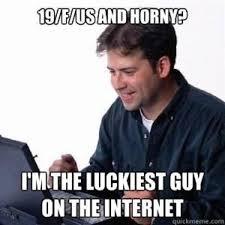 Internet Noob Meme - lonely computer guy net noob know your meme