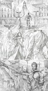 ian mccaig john carter storyboard pinterest sketches