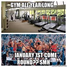 New Years Gym Meme - new years gym survival guide generation iron