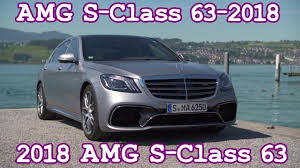 all new 2018 mercedes amg s class 63 test drive in depth