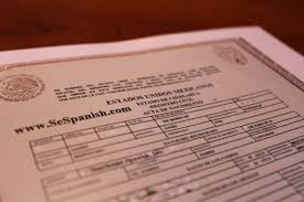 birth certificate translation southeast spanish inc