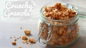 cuisine vegan facile crunchy granola vegan facile délicieux