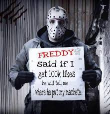 Friday The 13 Meme - in honor of friday the 13th here are the best jason voorhees