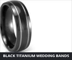Men Wedding Rings by Unique Mens Wedding Bands Mens Wedding Rings In Titanium