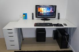 incredible desk setup ideas on pinterest gaming setup monitor and