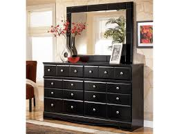 Mirror Chest Of Drawers Signature Design By Ashley Shay Contemporary 6 Drawer Dresser And