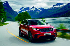 red range rover carnews land rover unveils the range rover velar for sub sahara