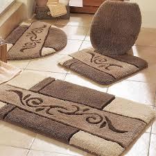 Brown Bathroom Rugs Luxury Bath Rugs Sets Novalinea Bagni Interior Warm And Luxury