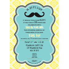 mustache baby shower mustache baby shower printable invitation