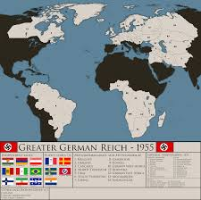 New World Order Map by A New Order Greater German Reich 1955 By Jbkjbk2310 On Deviantart